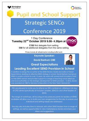 SENCO Conference Flyer Page 1